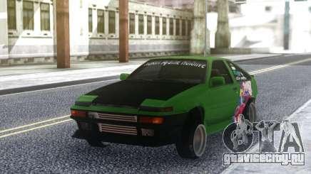 Toyota Corolla AE86 Coupe 1984 для GTA San Andreas