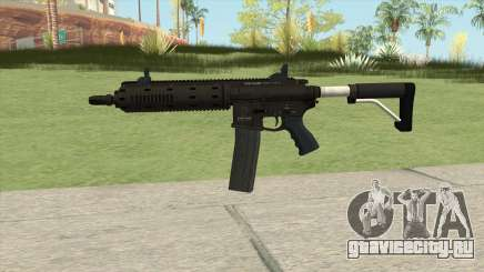 Carbine Rifle GTA V Flashlight (Extended Clip) для GTA San Andreas