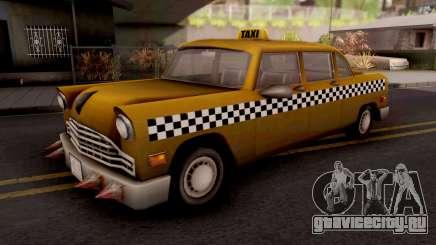 Borgine Cab GTA III Xbox для GTA San Andreas