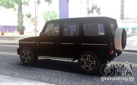 Mercedes-Benz G63 AMG для GTA San Andreas