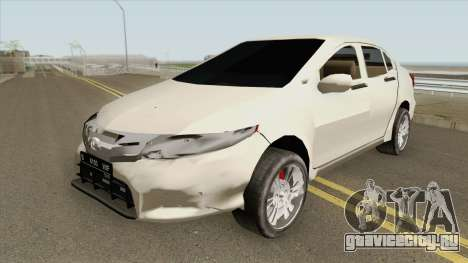 Honda City 2013 Low Poly для GTA San Andreas