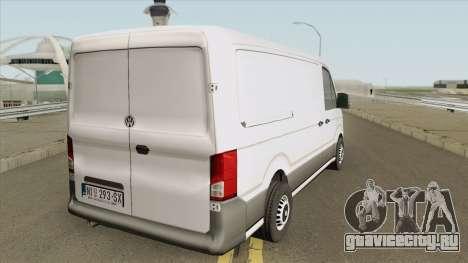 Volkswagen Crafter 2018 для GTA San Andreas