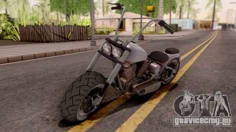 Zombie Metal Claro для GTA San Andreas