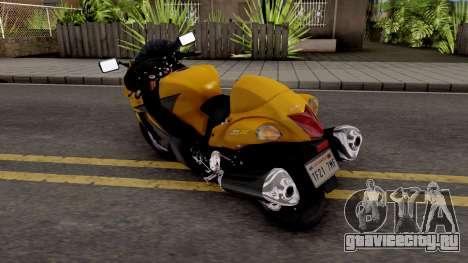 Suzuki GSX1300R Hayabusa 2015 IVF для GTA San Andreas