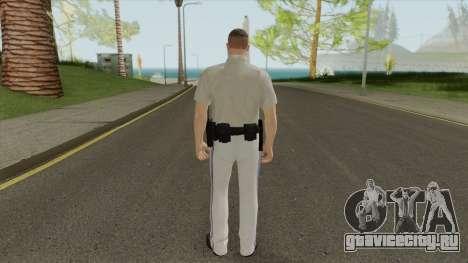 SAHP Officer Skin V2 для GTA San Andreas
