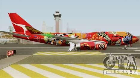 Boeing 747-400 RR RB211 (Qantas Livery) для GTA San Andreas