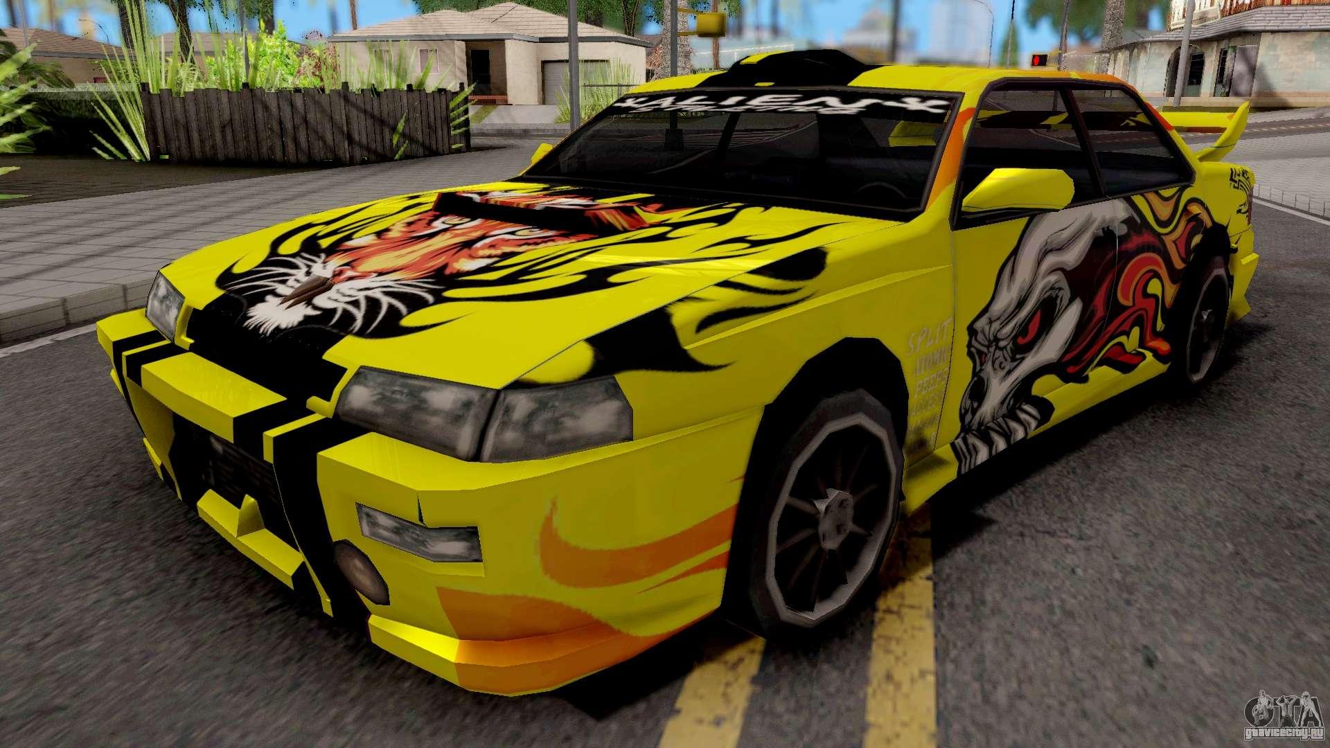 New Paint Job To Sultan для GTA San Andreas