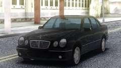 Mercedes-Benz E55 Sedan Black для GTA San Andreas