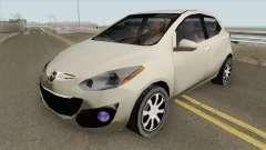 Mazda 2 2013 (SA Style) для GTA San Andreas