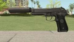 Firearms Source Beretta M9 Suppressed для GTA San Andreas