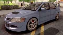 Mitsubishi Lancer EVO 8 Sedan для GTA San Andreas