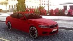 BMW M5 F90 Red Snow для GTA San Andreas