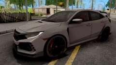 Honda Civic Type-R 2018 HQ для GTA San Andreas
