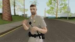 SAHP Officer Skin V4 для GTA San Andreas