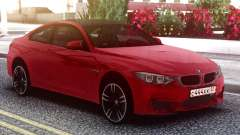 BMW M4 Coupe Red для GTA San Andreas