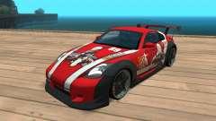 Nissan 350z Girls frontline Dragunov для GTA San Andreas