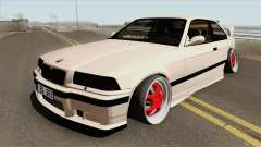 BMW E36 1998 Stance by Hazzard Garage для GTA San Andreas