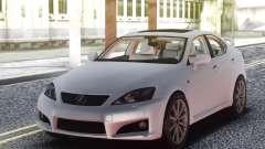 Lexus IS-F 2009 Civil для GTA San Andreas