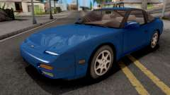 Nissan 240SX Blue для GTA San Andreas