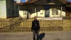 Пакман Черный Толстовка для GTA San Andreas