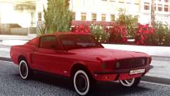 Ford Mustang 1967 Red Muscle для GTA San Andreas