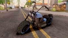 Zombie Metal Negro для GTA San Andreas