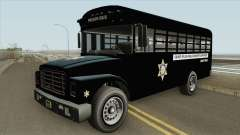 Prision Bus GTA V (Los Angeles County) для GTA San Andreas