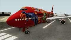 Boeing 747-400 RR RB211 (Qantas Livery)