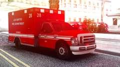 Ford F-250 Ambulance LSFD для GTA San Andreas
