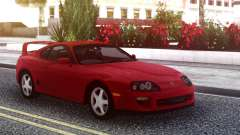 Toyota Supra Red Stock для GTA San Andreas