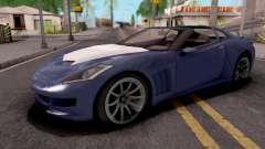 Invetero Coquette GTA 5 Blue для GTA San Andreas
