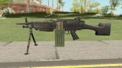 Firearms Source M249 для GTA San Andreas