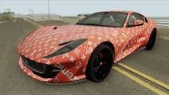 Ferrari 812 Superfast (Supreme X Luis Vouitton) для GTA San Andreas