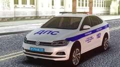 Volkswagen Polo 2019 СБ ДПС ГИБДД для GTA San Andreas