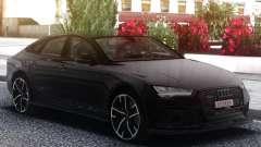 Audi RS7 Black для GTA San Andreas