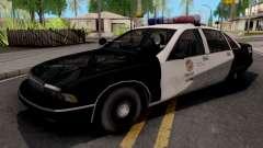 Chevrolet Caprice 1991 San Fierro Police для GTA San Andreas