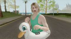 GTA Online Random Skin 22: With Duck Floatie для GTA San Andreas