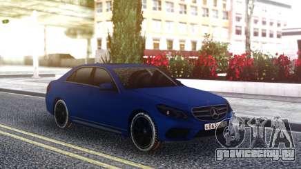 Mercedes-Benz E200 CGI для GTA San Andreas