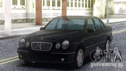 Mercedes-Benz E55 Sedan Black для GTA San Andreas