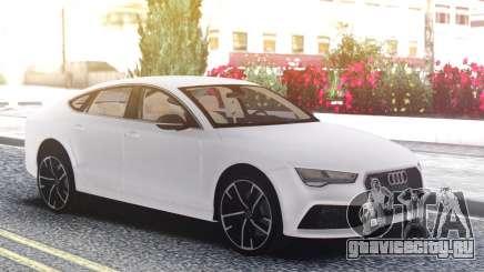 Audi RS7 White для GTA San Andreas