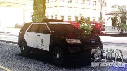 Ford Explorer Police Mod для GTA San Andreas