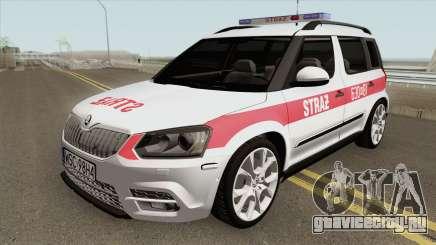 Skoda Yeti - KPP PSP Sochaczew для GTA San Andreas
