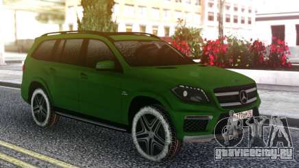 Mercedes-Benz GL 63 AMG Green для GTA San Andreas