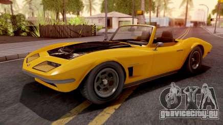 GTA V Invetero Coquette Classic TL для GTA San Andreas