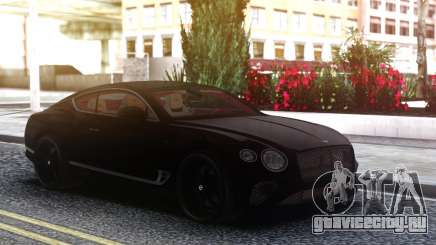 2018 Bentley Continental GT First Edition для GTA San Andreas