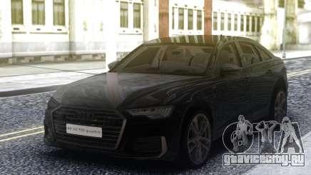 Audi A6 2019 C8 для GTA San Andreas