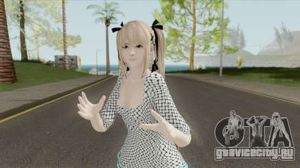 Marie Rose White Dress (DoA 5) для GTA San Andreas