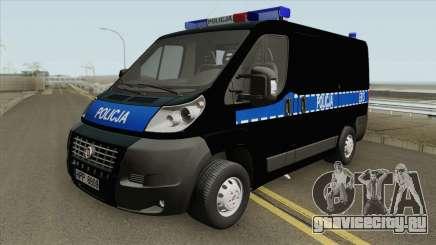 Fiat Ducato Polskiej Policji для GTA San Andreas