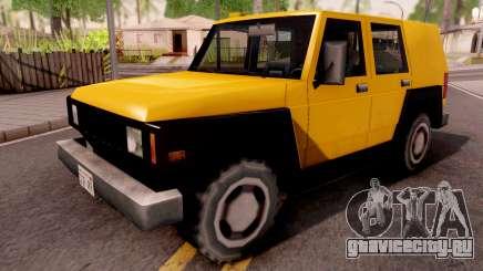 SUV Bulldog для GTA San Andreas
