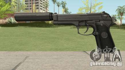 Firearms Source Beretta M9 Suppressed для GTA San Andreas